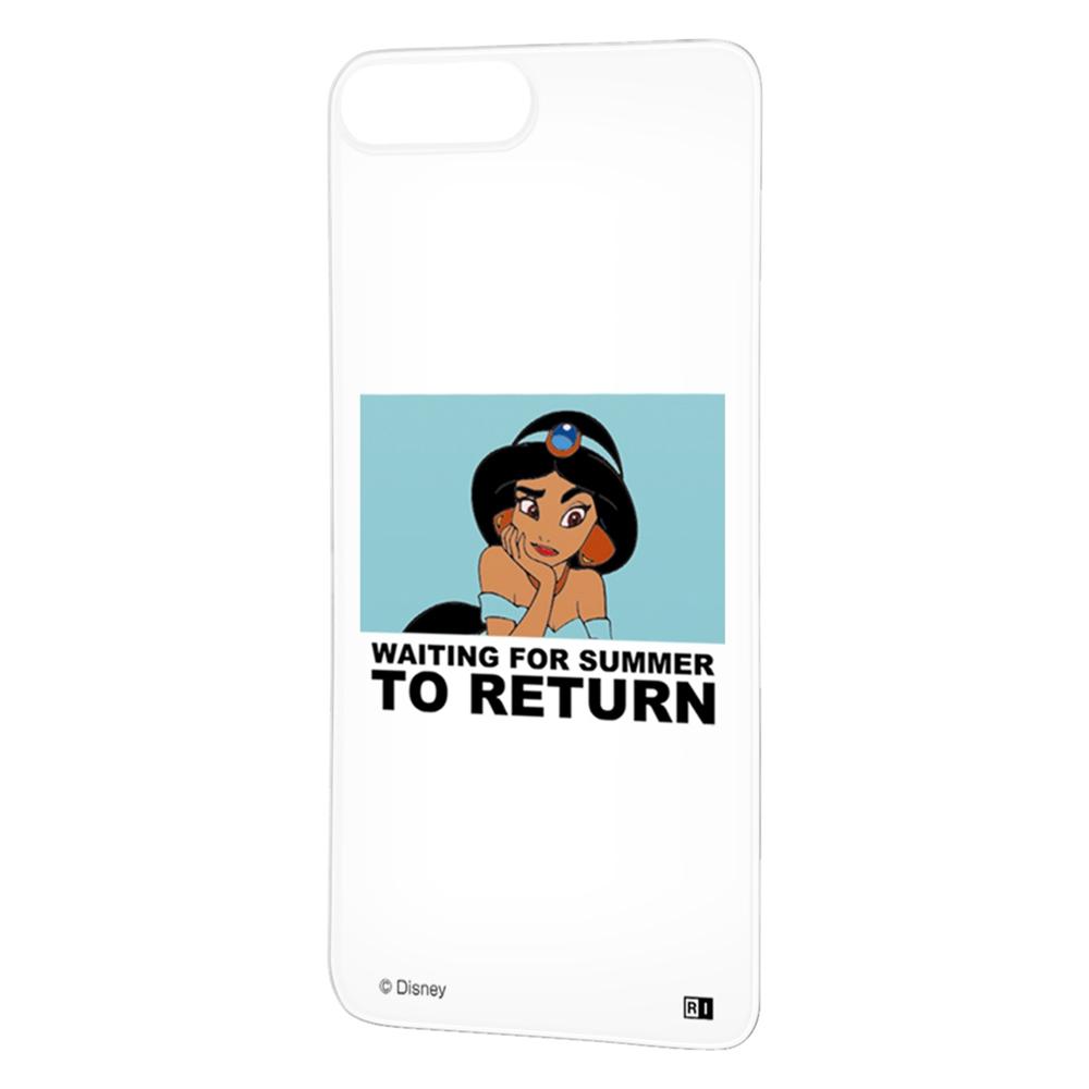iPhone 8 Plus / 7 Plus /『ディズニーキャラクター』/背面パネル/『ジャスミン/clair』_01【受注生産】