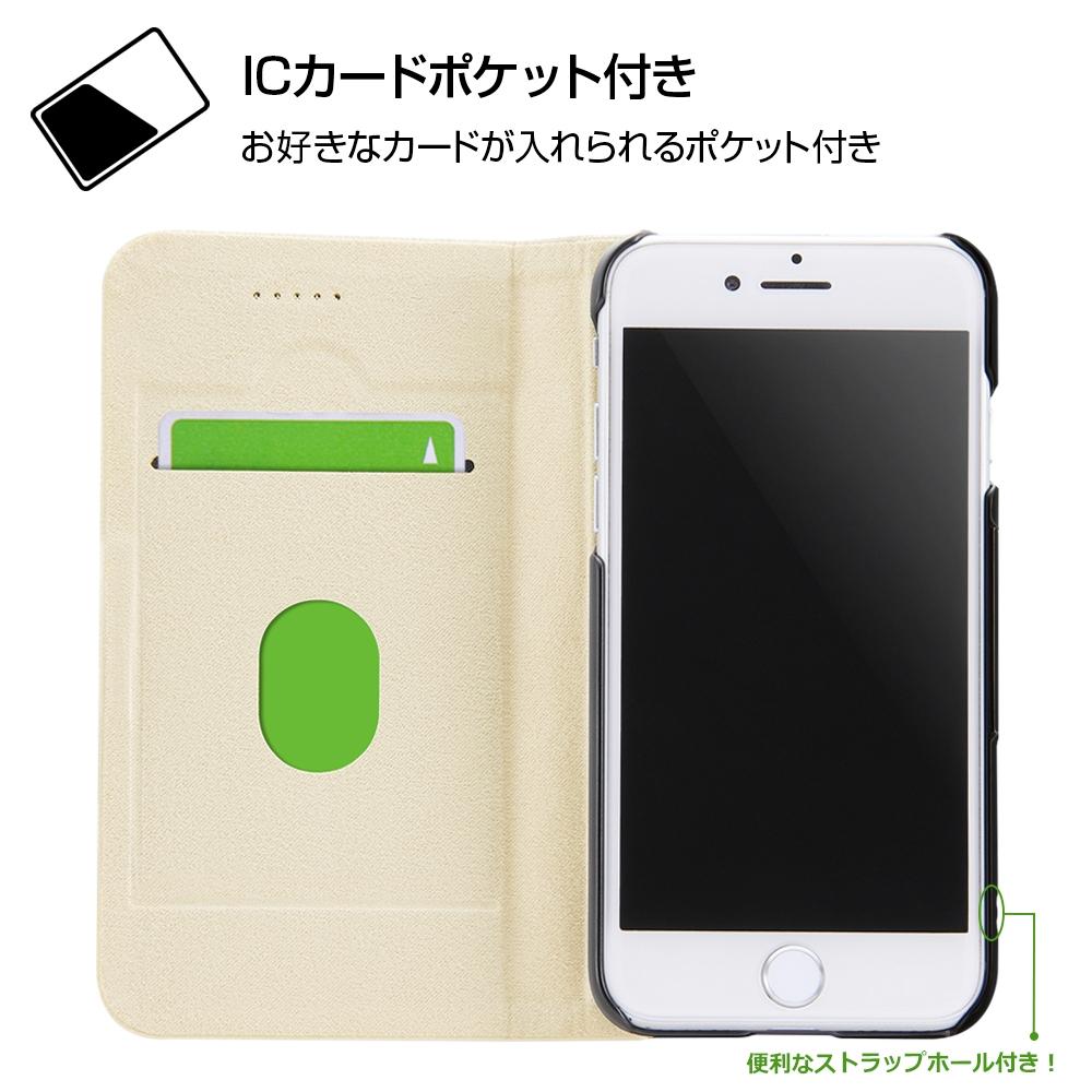 iPhone SE(第2世代)/8 / 7 /『ディズニーキャラクター』/手帳型ケース マグネットタイプ/『バンビ/レトロ』_01【受注生産】