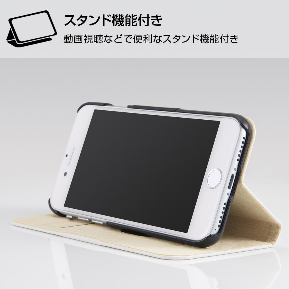 iPhone SE(第2世代)/8 / 7 /『ディズニーキャラクター』/手帳型ケース マグネットタイプ/『おしゃれキャット/レトロ』_01【受注生産】