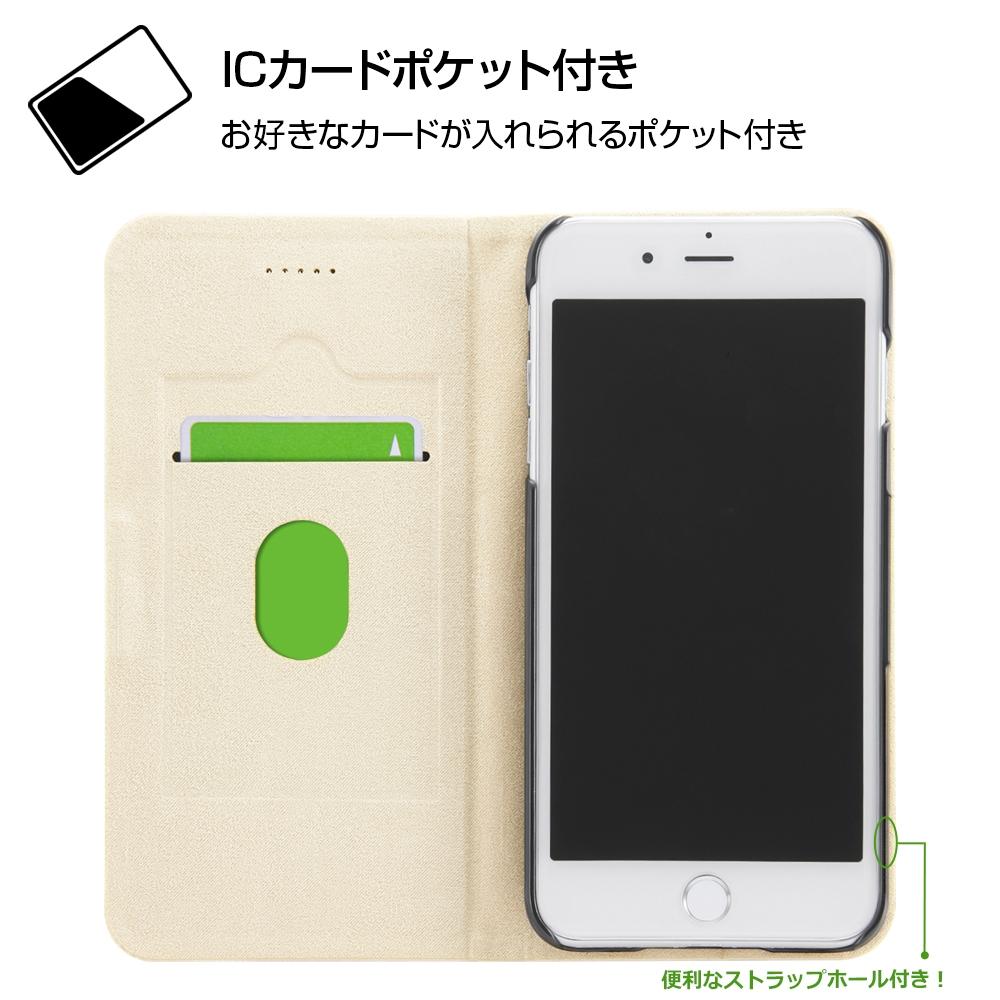 iPhone 8 Plus / 7 Plus /『ディズニーキャラクター』/手帳型ケース マグネットタイプ/『Best Couple/レトロ』_01【受注生産】