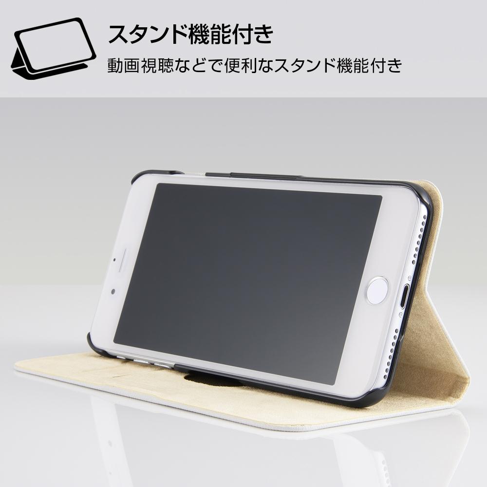 iPhone 8 Plus / 7 Plus /『ディズニーキャラクター』/手帳型ケース マグネットタイプ/『ピーター・パン/レトロ』_01【受注生産】