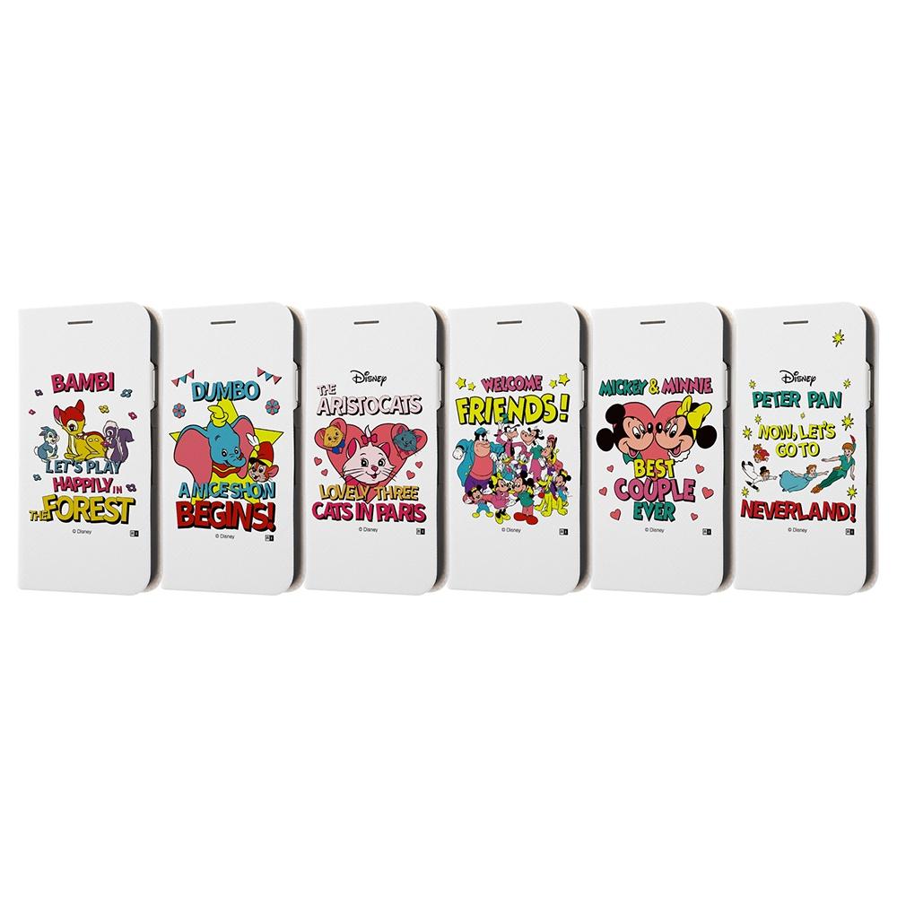 iPhone XR /『ディズニーキャラクター』/手帳型ケース マグネットタイプ/『ピーター・パン/レトロ』_01【受注生産】