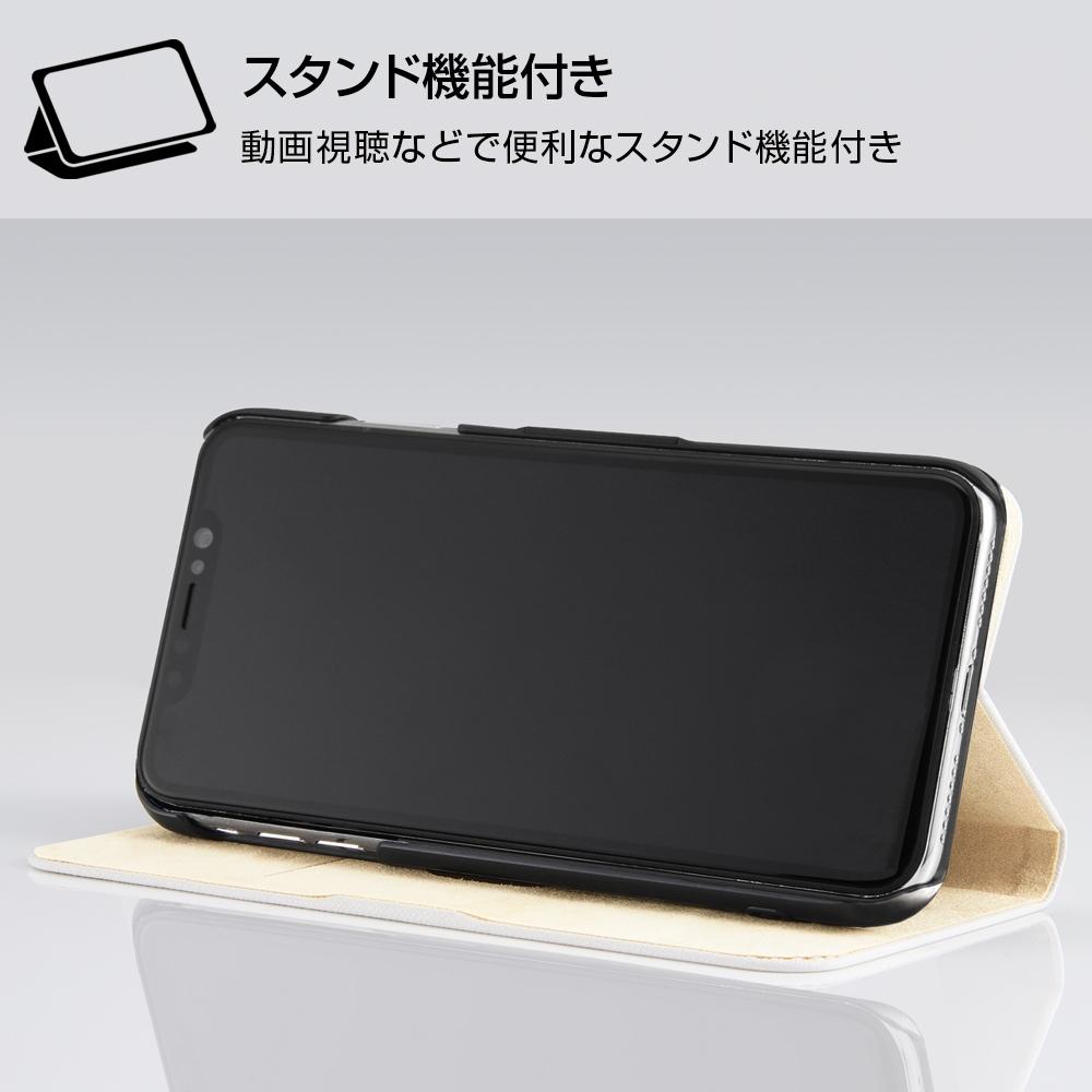 iPhone XS Max /『ディズニーキャラクター』/手帳型ケース マグネットタイプ/『おしゃれキャット/レトロ』_01【受注生産】