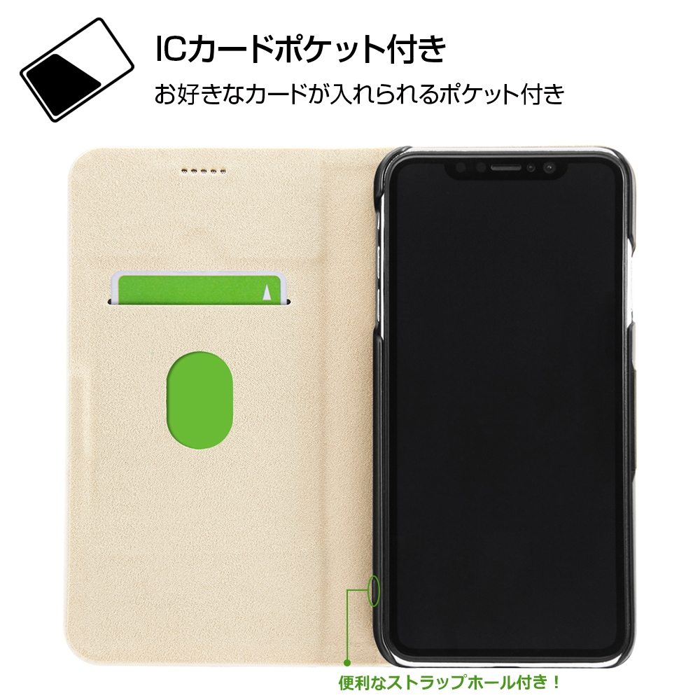 iPhone XS Max /『ディズニーキャラクター』/手帳型ケース マグネットタイプ/『Best Couple/レトロ』_01【受注生産】