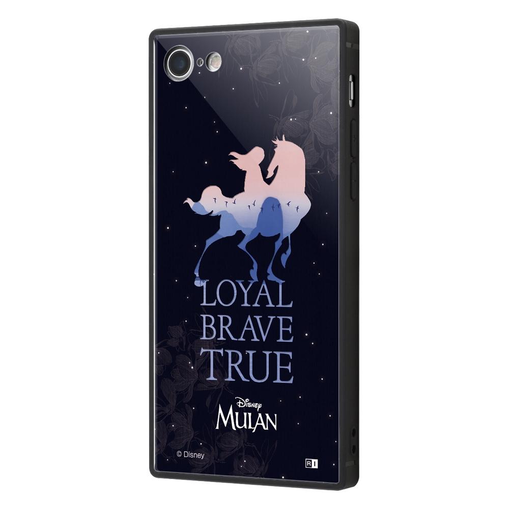 iPhone SE(第2世代)/8/ 7 /ディズニー映画『ムーラン』/耐衝撃ケース KAKU トリプルハイブリッド/『ムーラン/シルエット』【受注生産】