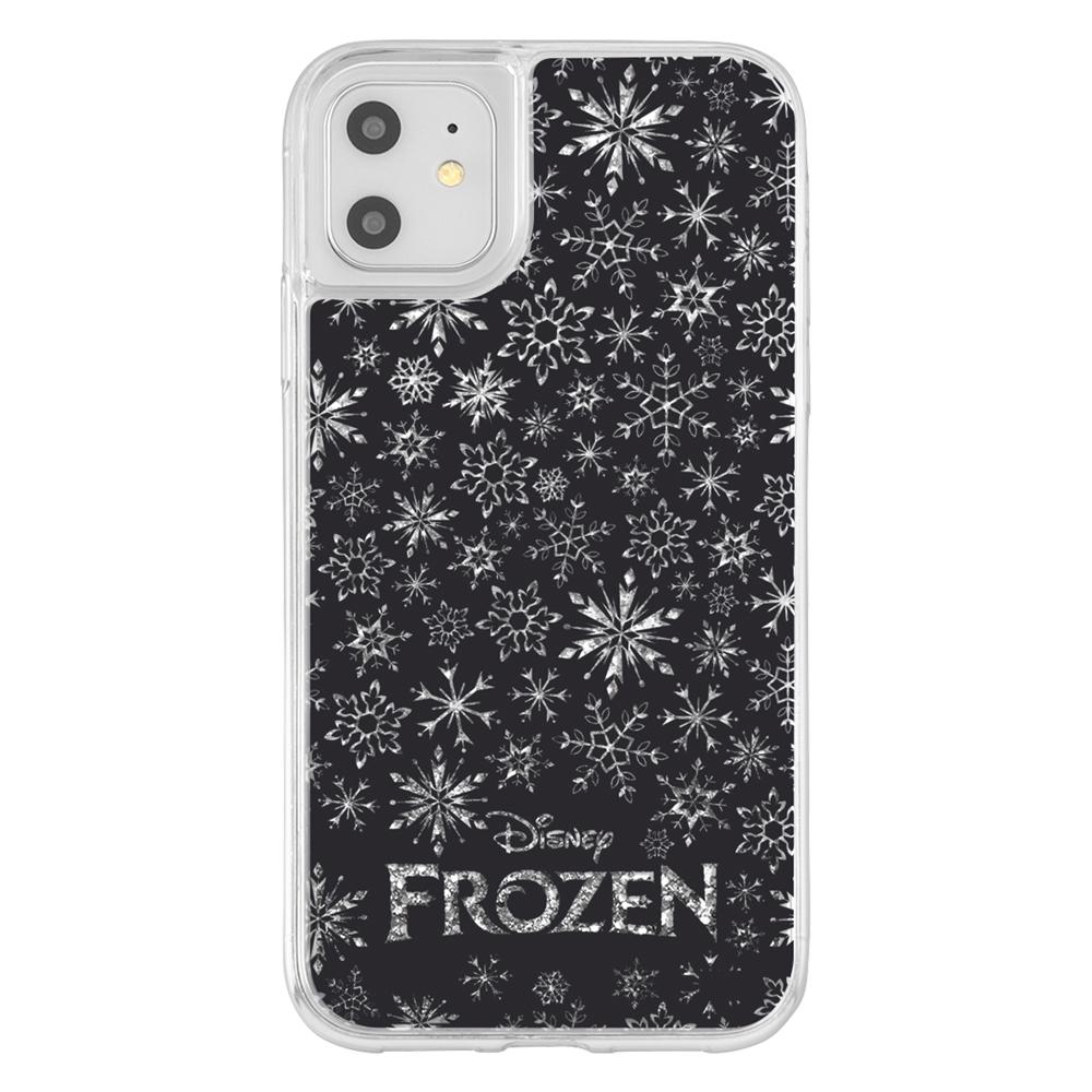 iPhone 11 / XR /『アナと雪の女王』/ラメ グリッターケース/『アナと雪の女王/スノーフレーク』【受注商品】