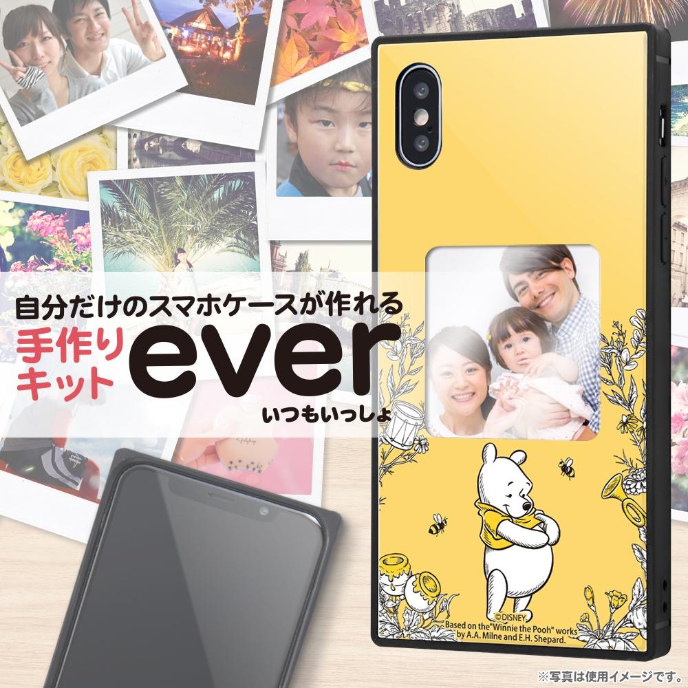 iPhone XS / X /『ディズニーキャラクター』/スマホケースフレームキット ever/『くまのプーさん/メモリー』_01【受注生産】