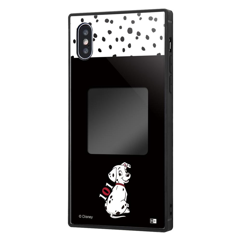 iPhone XS / X /『ディズニーキャラクター』/スマホケースフレームキット ever/『101匹わんちゃん/メモリー』_01【受注生産】