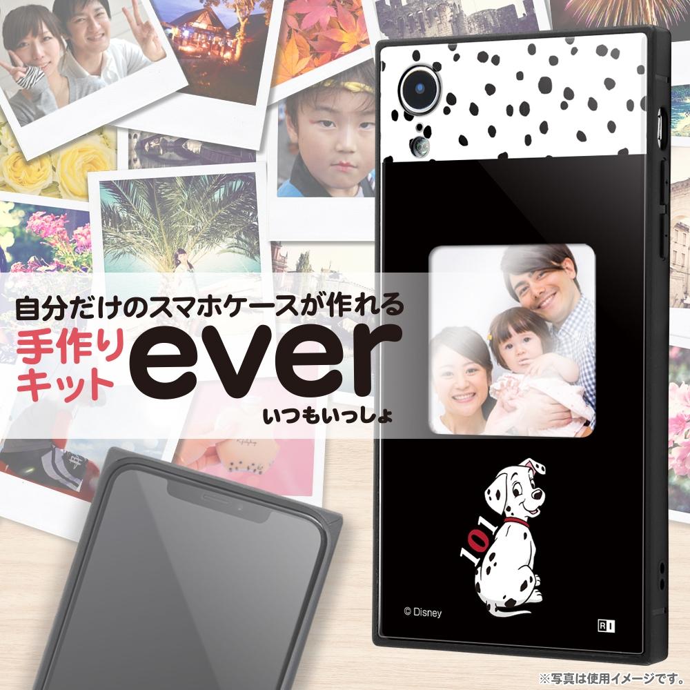 iPhone XR /『ディズニーキャラクター』/スマホケースフレームキット ever/『101匹わんちゃん/メモリー』_01【受注生産】