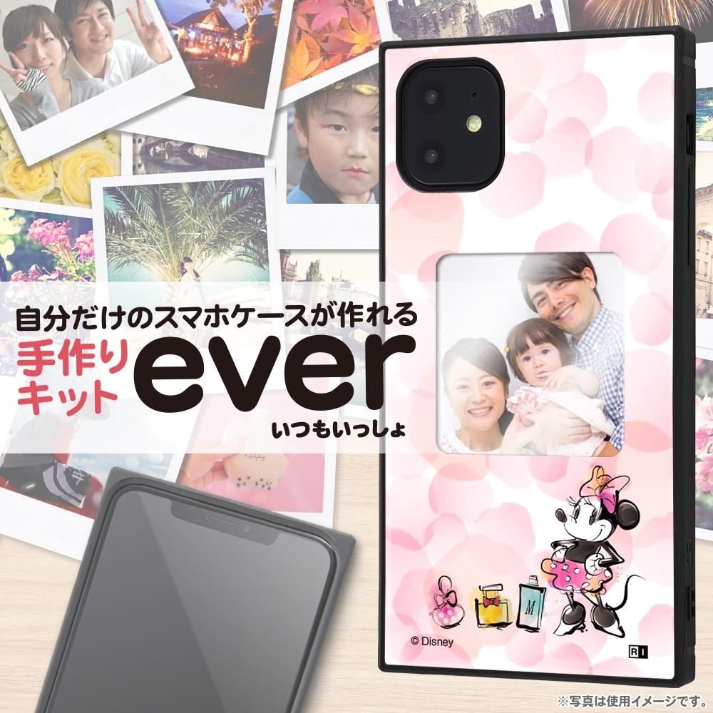 iPhone 11 /『ディズニーキャラクター』/スマホケースフレームキット ever/『ミニーマウス/メモリー』_01【受注生産】