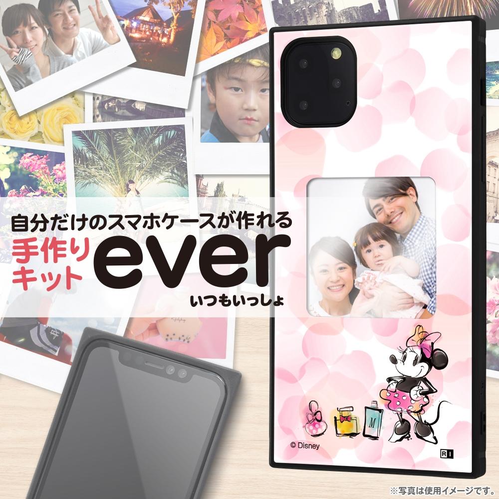 iPhone 11 Pro Max /『ディズニーキャラクター』/スマホケースフレームキット ever/『ミニーマウス/メモリー』_01【受注生産】