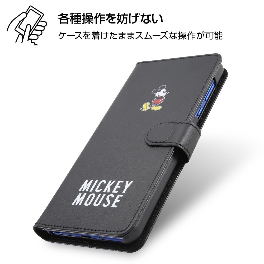 AQUOS R5G 『ディズニーキャラクター』/手帳型アートケース マグネット/ミッキーマウス_025