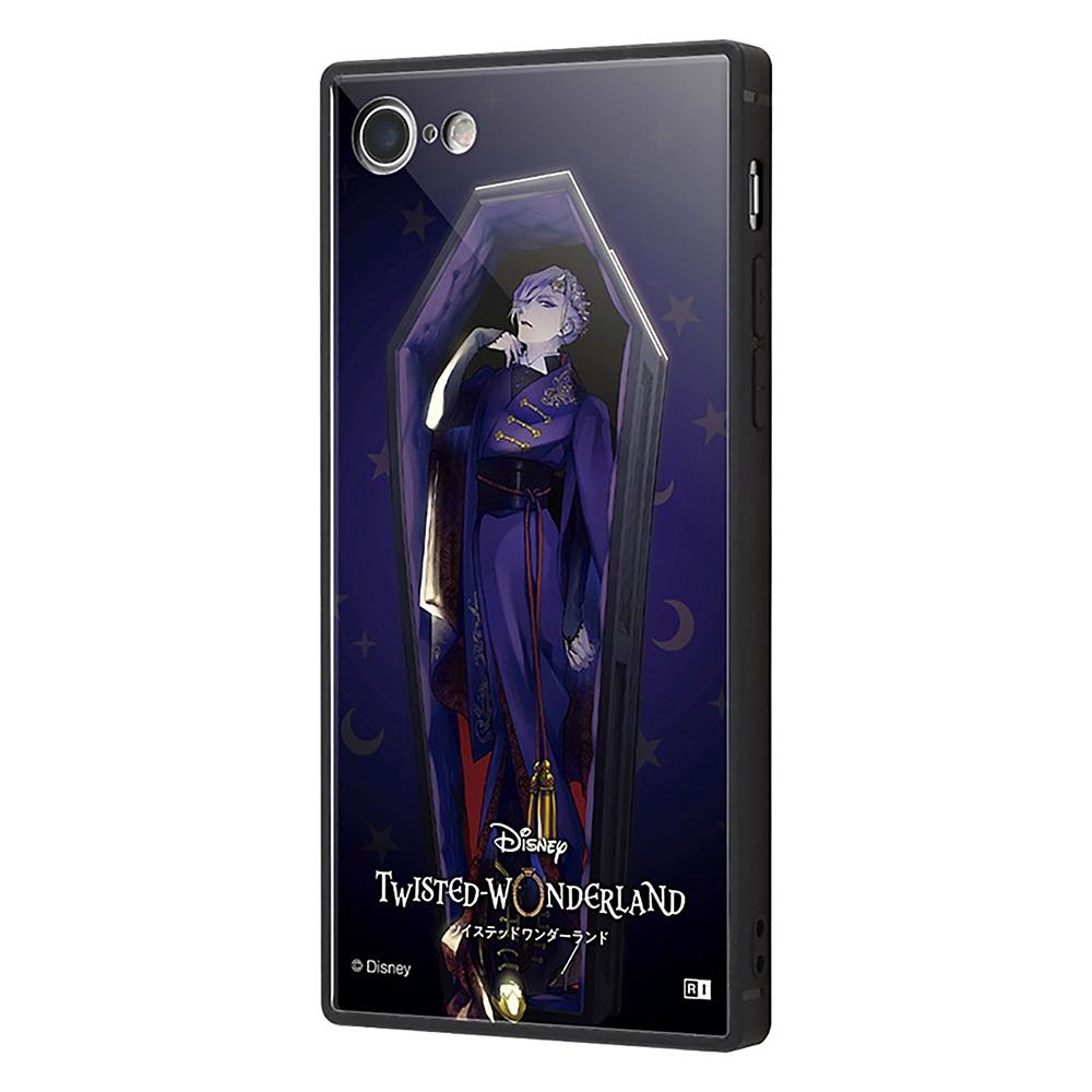 【KAKU】ヴィル・シェーンハイト iPhone 7/8用スマホケース・カバー 『ディズニー ツイステッドワンダーランド』 耐衝撃トリプルハイブリッド