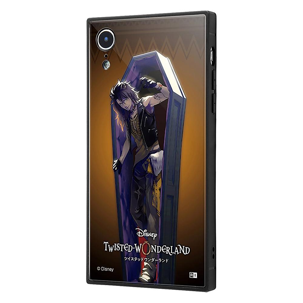 【KAKU】レオナ・キングスカラー iPhone XR用スマホケース・カバー 『ディズニー ツイステッドワンダーランド』 耐衝撃トリプルハイブリッド