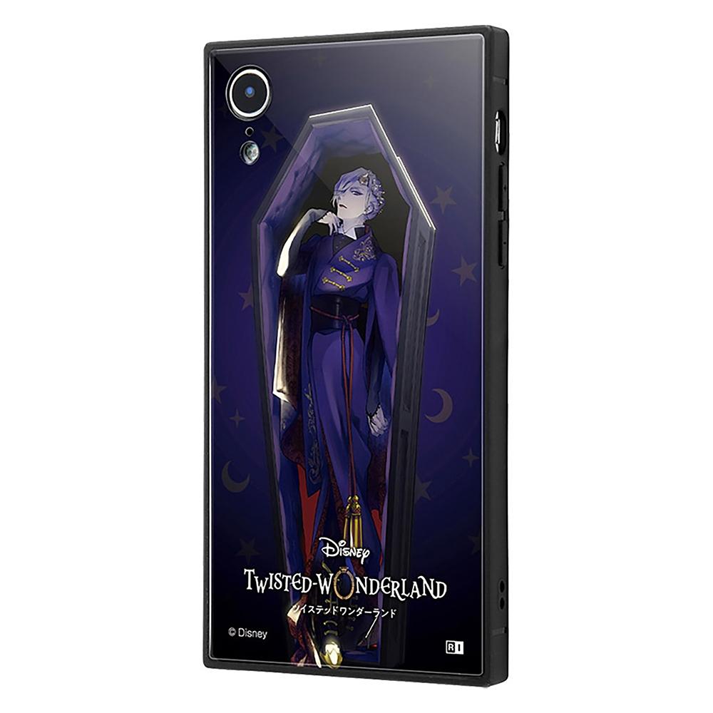 【KAKU】ヴィル・シェーンハイト iPhone XR用スマホケース・カバー 『ディズニー ツイステッドワンダーランド』 耐衝撃トリプルハイブリッド