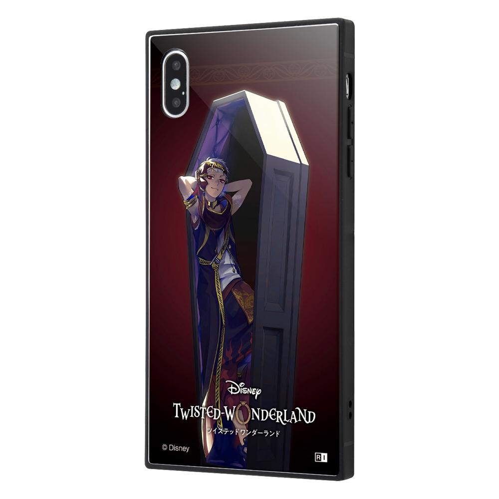 iPhone XS Max /『ツイステッドワンダーランド』/耐衝撃ケース KAKU トリプルハイブリッド/『ツイステッドワンダーランド/カリム・アルアジーム』【受注生産】