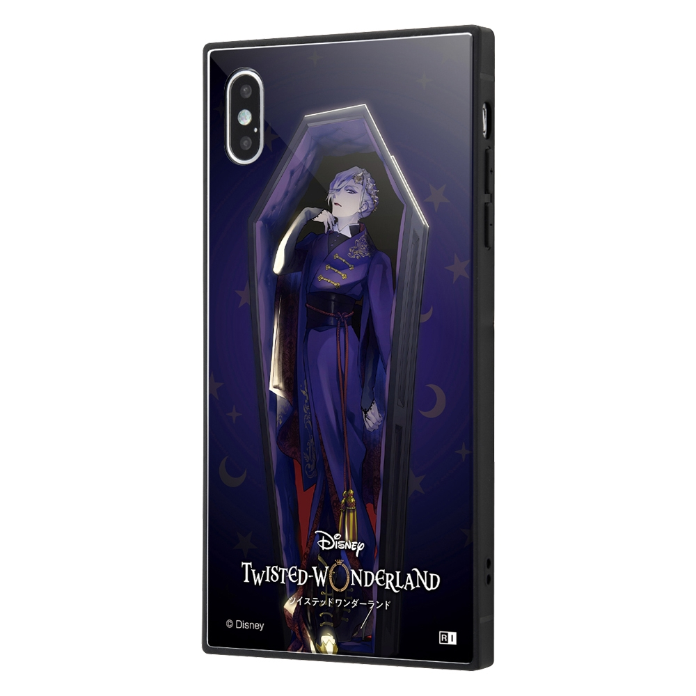 iPhone XS Max /『ツイステッドワンダーランド』/耐衝撃ケース KAKU トリプルハイブリッド/『ツイステッドワンダーランド/ヴィル・シェンハイト』【受注生産】