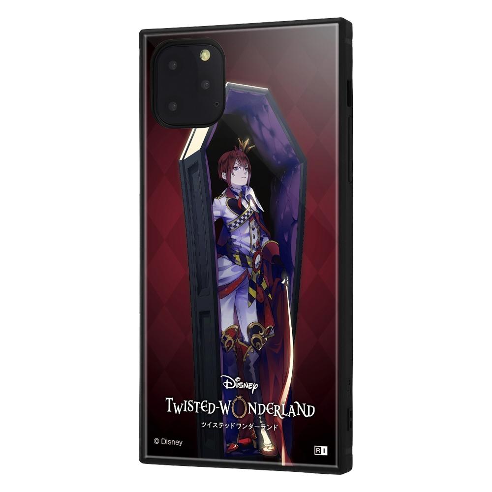 iPhone 11 Pro Max /『ツイステッドワンダーランド』/耐衝撃ハイブリッドケース KAKU/『ツイステッドワンダーランド/リドル・ローズハート』【受注生産】