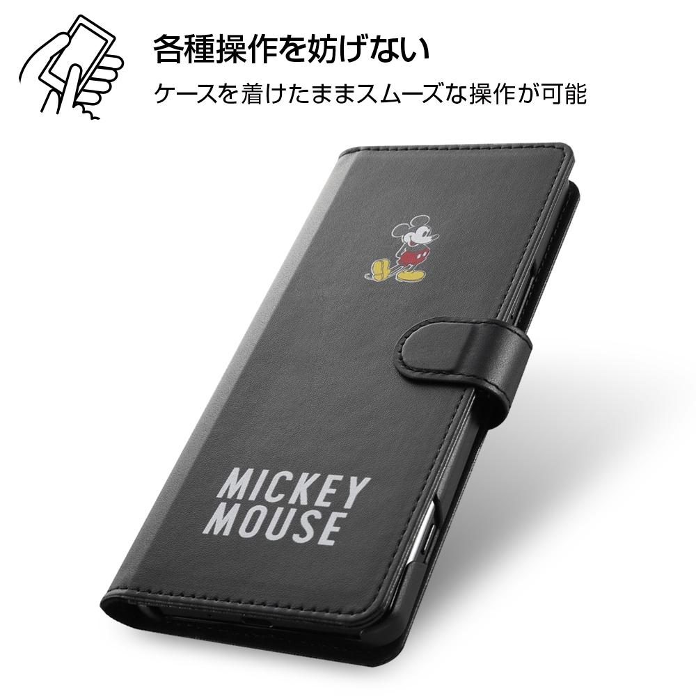 Xperia 1 II 『ディズニーキャラクター』/手帳型アートケース マグネット/ミッキーマウス_025