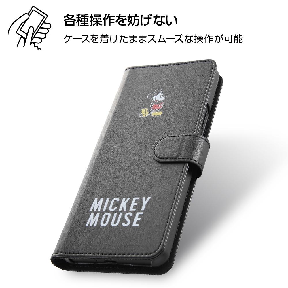 Xperia 10 II 『ディズニーキャラクター』/手帳型アートケース マグネット/ミッキーマウス_025