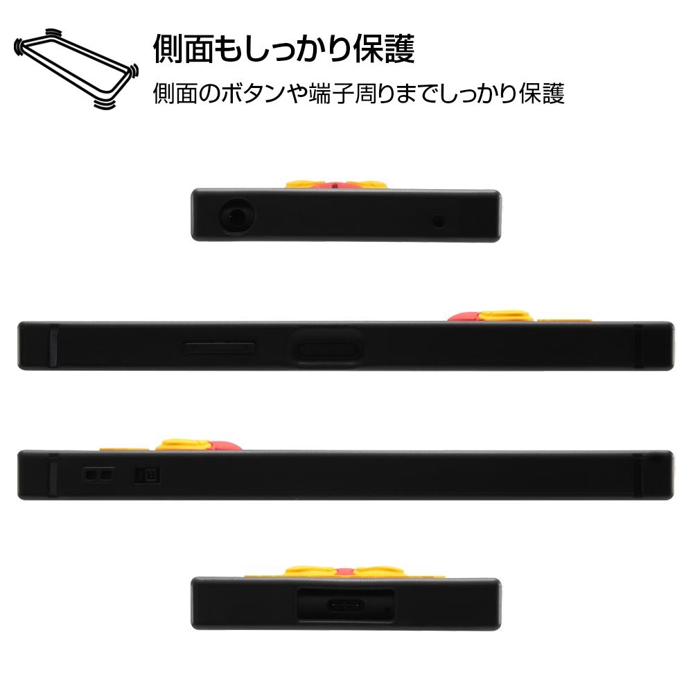 Xperia 10 II 『ディズニーキャラクター』/耐衝撃ハイブリッドケース シリコン KAKU/ミッキー