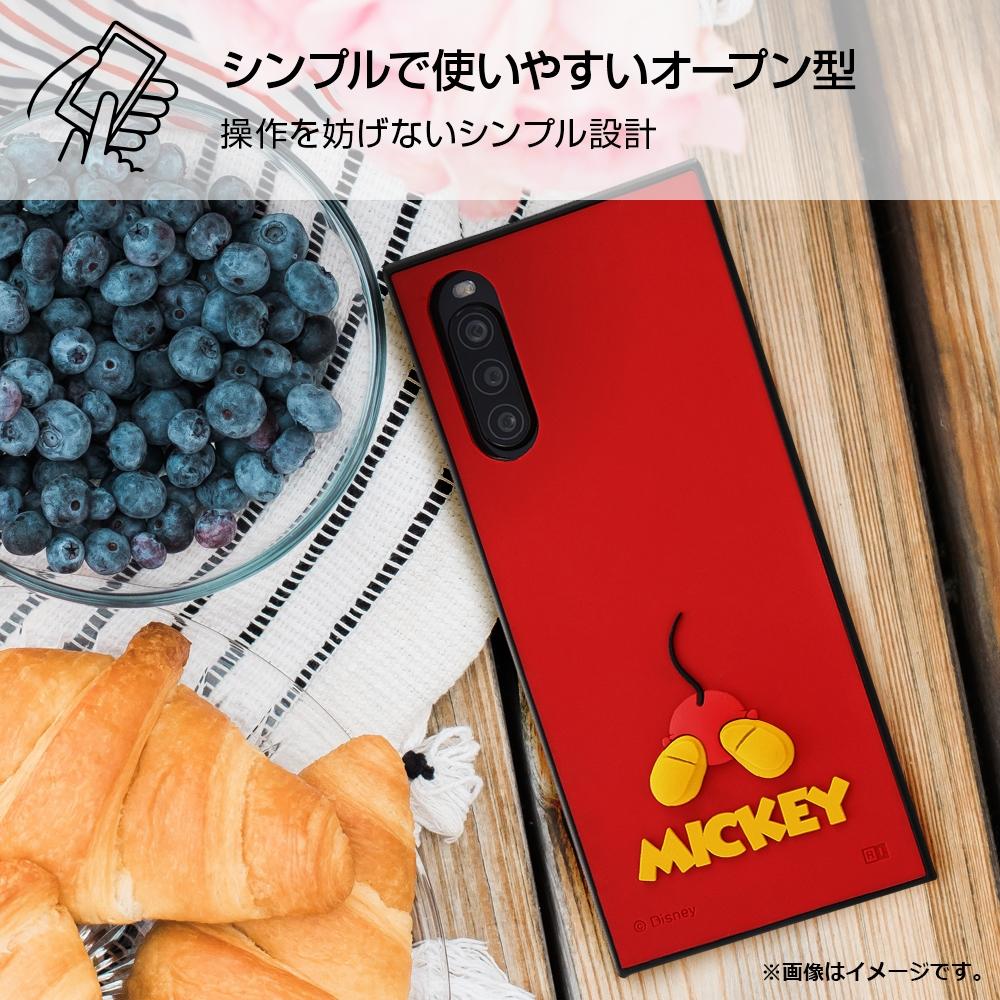 Xperia 10 II 『ディズニーキャラクター』/耐衝撃ハイブリッドケース シリコン KAKU/ミニー