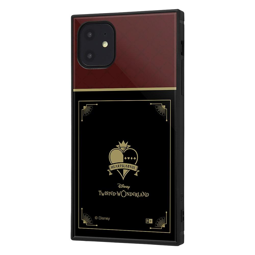 【KAKU】ハーツラビュル寮 iPhone 11用スマホケース・カバー 『ディズニー ツイステッドワンダーランド』 耐衝撃ハイブリッド