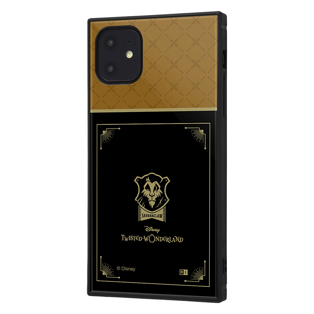 【KAKU】サバナクロー寮 iPhone 11用スマホケース・カバー 『ディズニー ツイステッドワンダーランド』 耐衝撃ハイブリッド