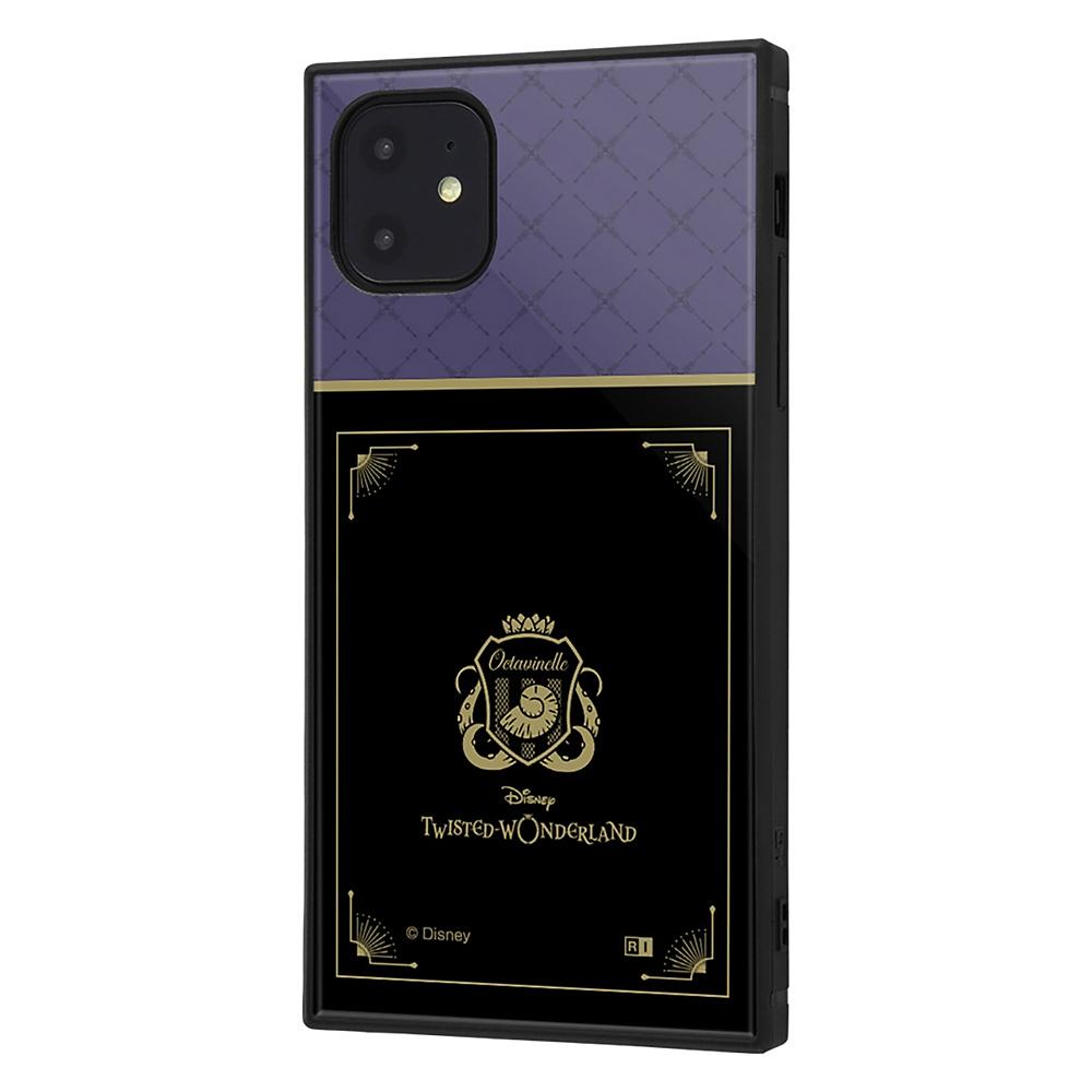 【KAKU】オクタヴィネル寮 iPhone 11用スマホケース・カバー 『ディズニー ツイステッドワンダーランド』 耐衝撃ハイブリッド