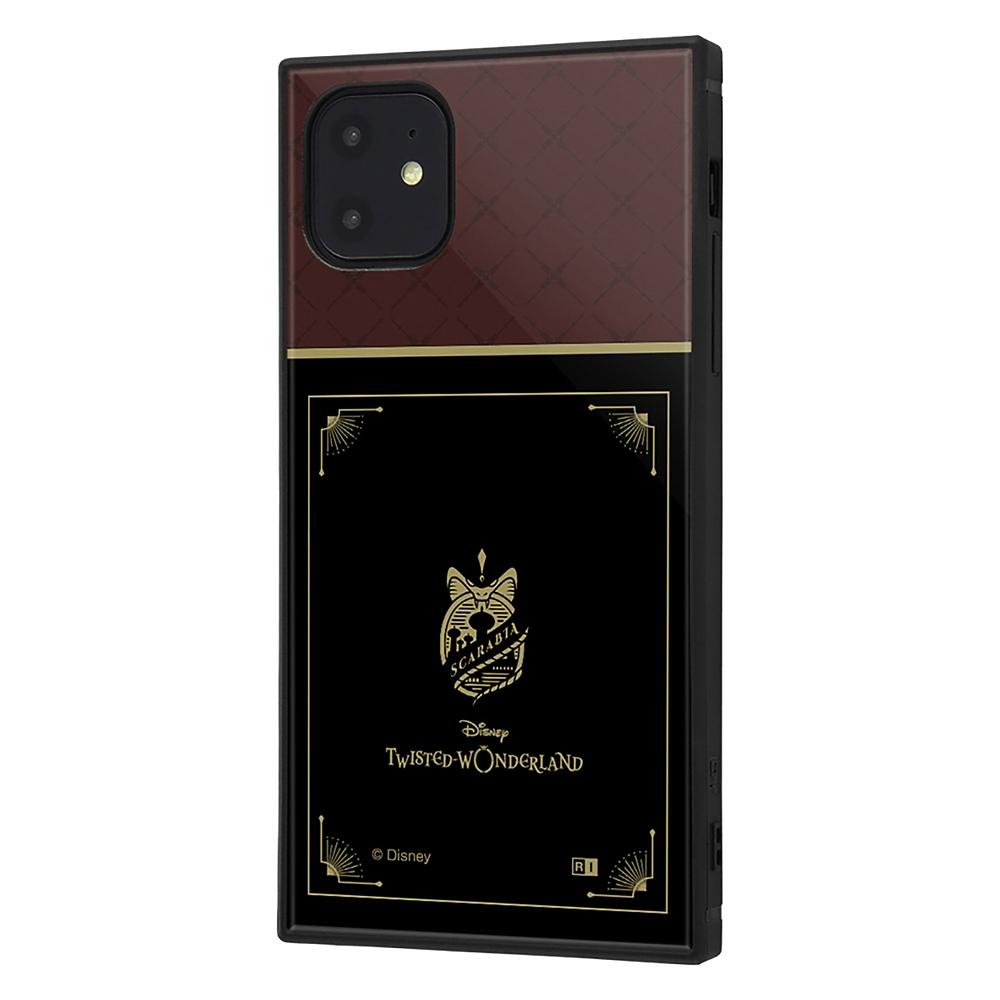 【KAKU】スカラビア寮 iPhone 11用スマホケース・カバー 『ディズニー ツイステッドワンダーランド』 耐衝撃ハイブリッド