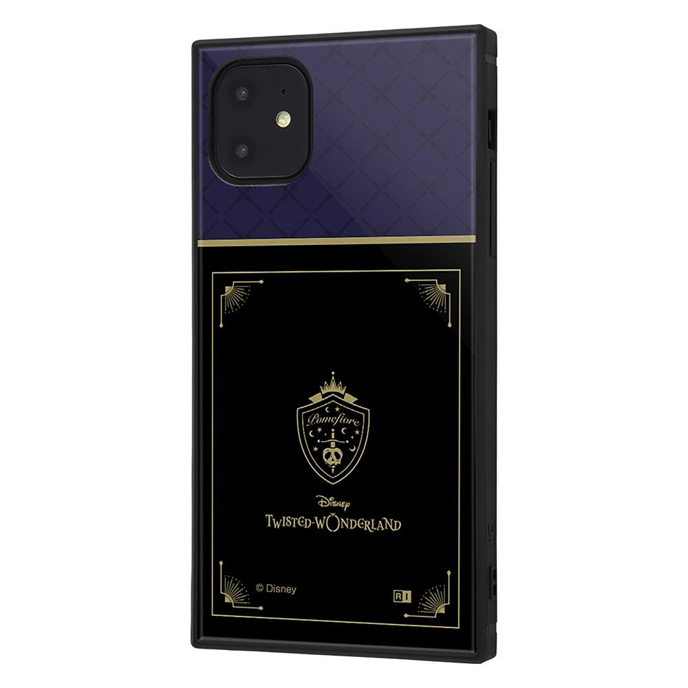 【KAKU】ポムフィオーレ寮 iPhone 11用スマホケース・カバー 『ディズニー ツイステッドワンダーランド』 耐衝撃ハイブリッド