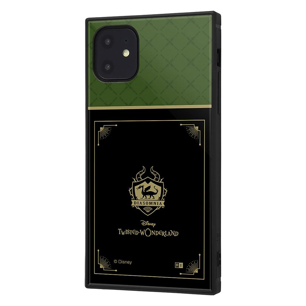 【KAKU】ディアソムニア寮 iPhone 11用スマホケース・カバー 『ディズニー ツイステッドワンダーランド』 耐衝撃ハイブリッド