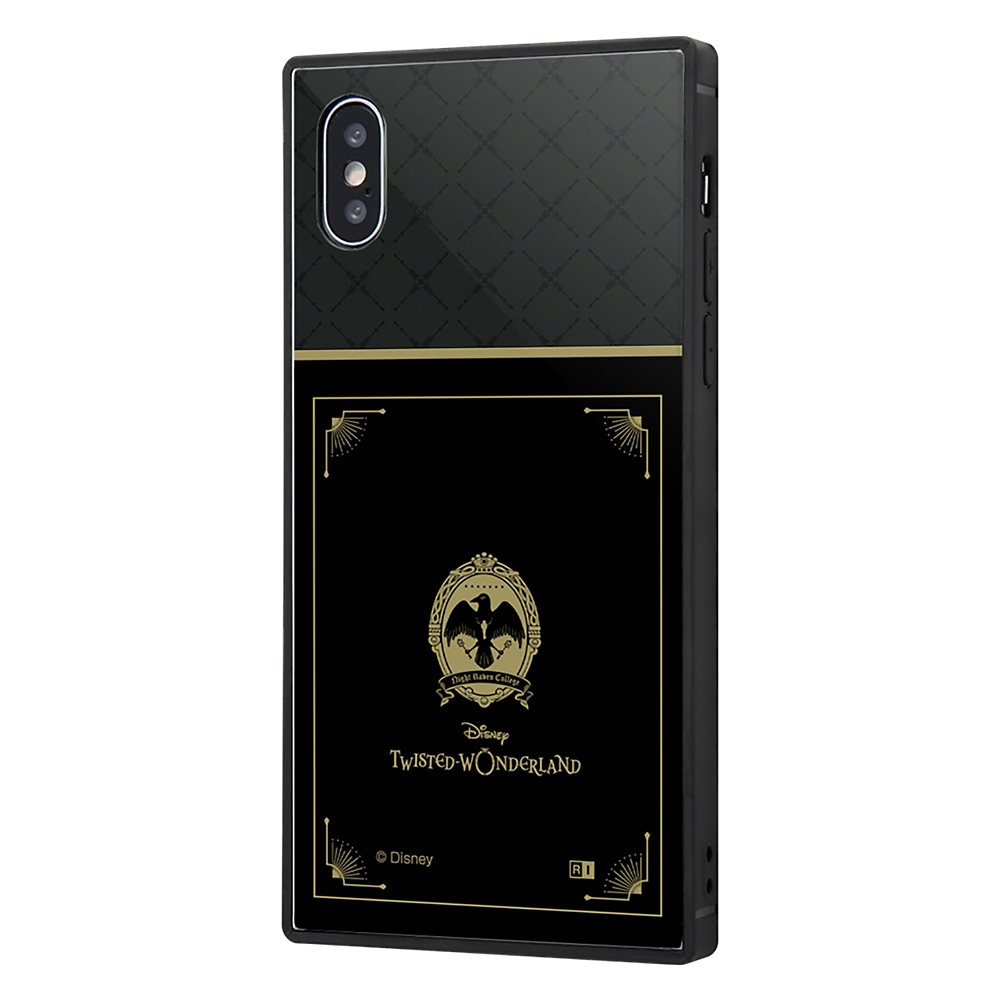 【KAKU】ナイトレイブンカレッジ iPhone X/XS用スマホケース・カバー 『ディズニー ツイステッドワンダーランド』 耐衝撃トリプルハイブリッド
