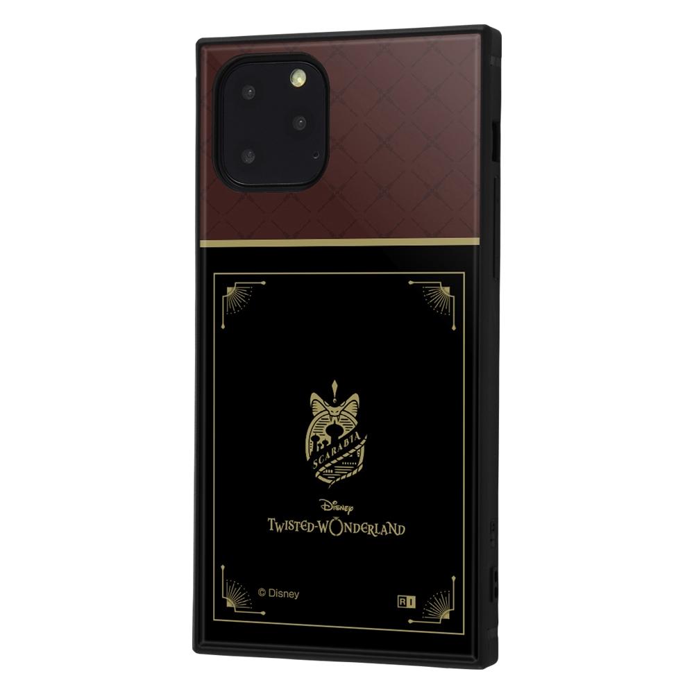 iPhone 11 Pro /『ツイステッドワンダーランド』/耐衝撃ハイブリッドケース KAKU/『ツイステッドワンダーランド/スカラビア寮』【受注生産】