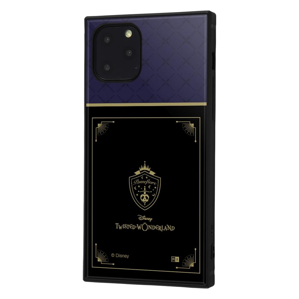 iPhone 11 Pro /『ツイステッドワンダーランド』/耐衝撃ハイブリッドケース KAKU/『ツイステッドワンダーランド/ポムフィオーレ寮』【受注生産】