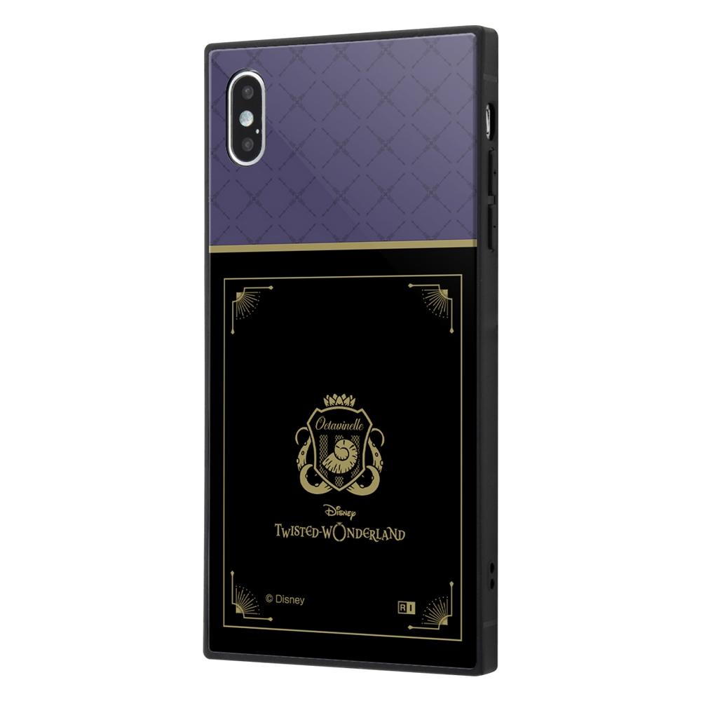 iPhone XS Max /『ツイステッドワンダーランド』/耐衝撃ケース KAKU トリプルハイブリッド/『ツイステッドワンダーランド/オクタヴィネル寮』【受注生産】