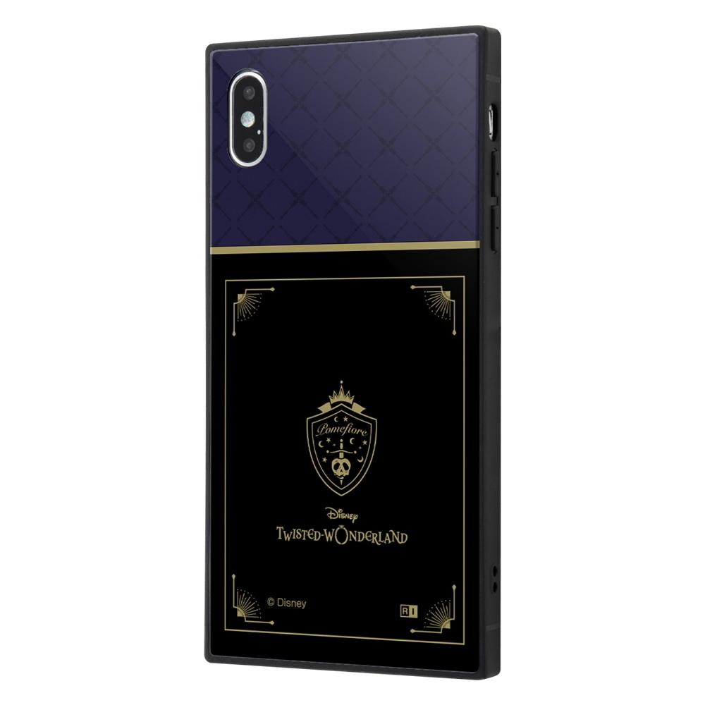 iPhone XS Max /『ツイステッドワンダーランド』/耐衝撃ケース KAKU トリプルハイブリッド/『ツイステッドワンダーランド/ポムフィオーレ寮』【受注生産】