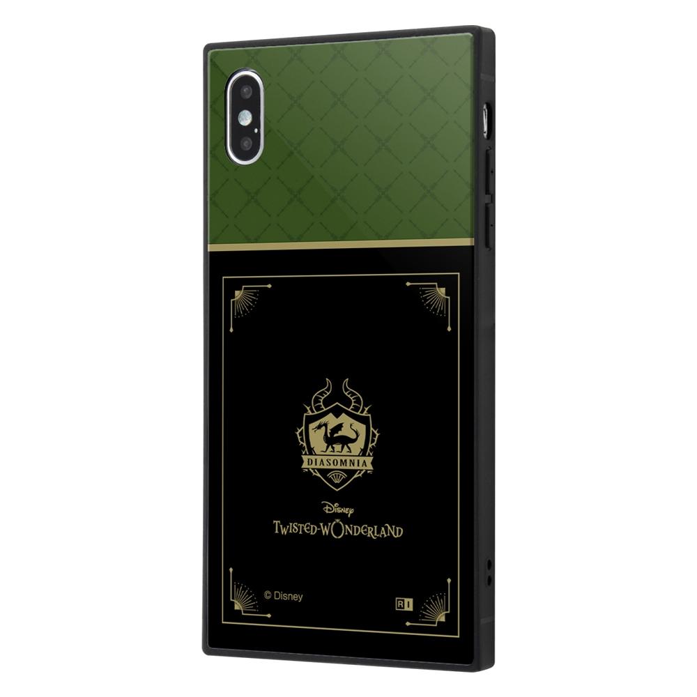 iPhone XS Max /『ツイステッドワンダーランド』/耐衝撃ケース KAKU トリプルハイブリッド/『ツイステッドワンダーランド/ディアソムニア寮』【受注生産】