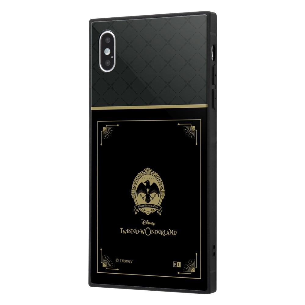 iPhone XS Max /『ツイステッドワンダーランド』/耐衝撃ケース KAKU トリプルハイブリッド/『ツイステッドワンダーランド/ナイトレイブンカレッジ』【受注生産】