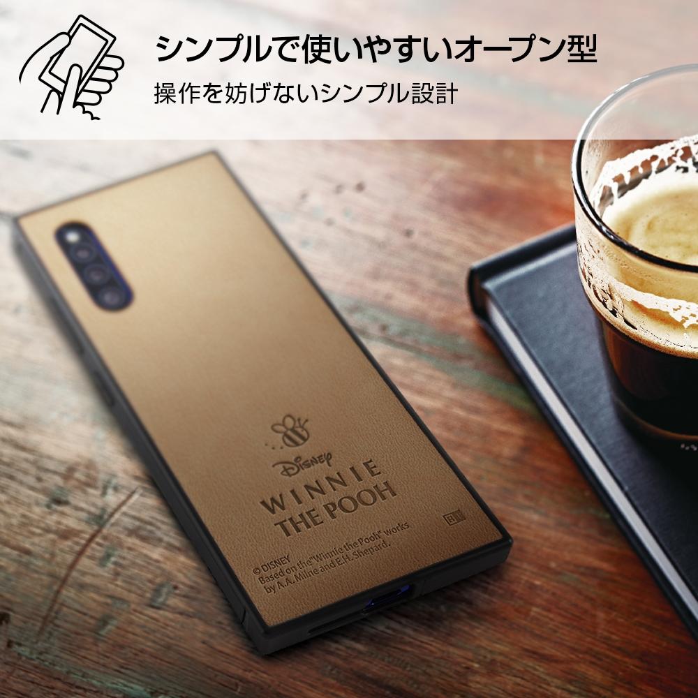 Galaxy A41 『ディズニーキャラクター』/耐衝撃オープンレザーケース KAKU/ミッキー