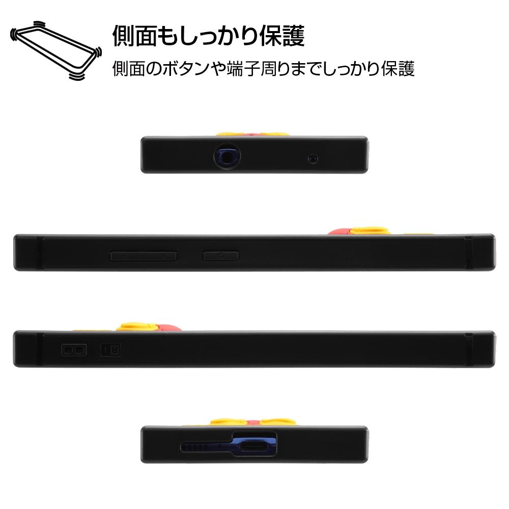 Galaxy A41 『ディズニーキャラクター』/耐衝撃ハイブリッドケース シリコン KAKU/ミニー
