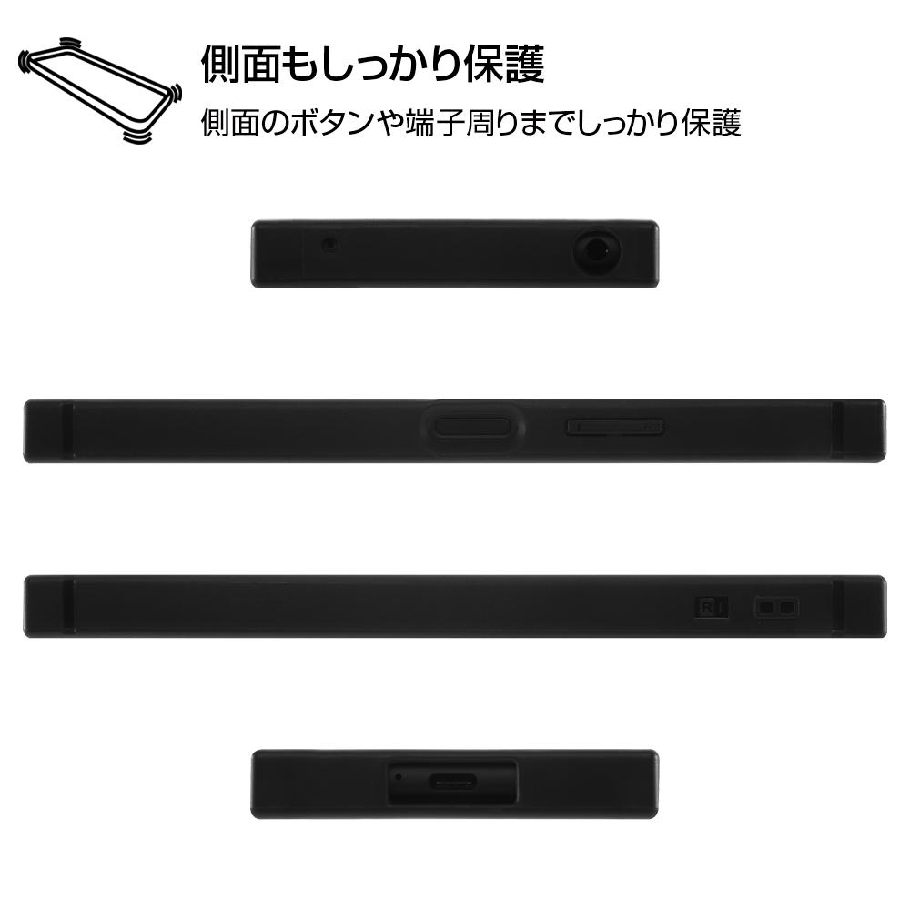 Xperia 10 II /『ディズニーキャラクター』/耐衝撃ハイブリッドケース KAKU/『ミニーマウス/OTONA BLACK』【受注生産】