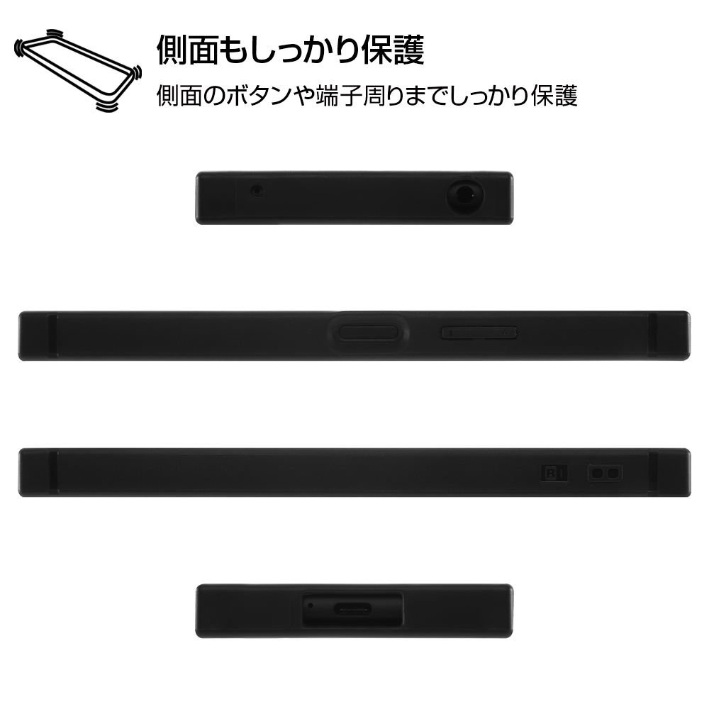 Xperia 10 II /『ディズニーキャラクター』/耐衝撃ハイブリッドケース KAKU/『ミニーマウス/OTONA WHITE』【受注生産】