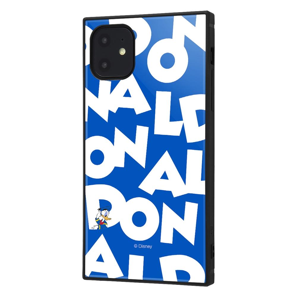iPhone 11 /『ディズニーキャラクター』/耐衝撃ハイブリッドケース KAKU /『ドナルドダック/I AM』【受注生産】