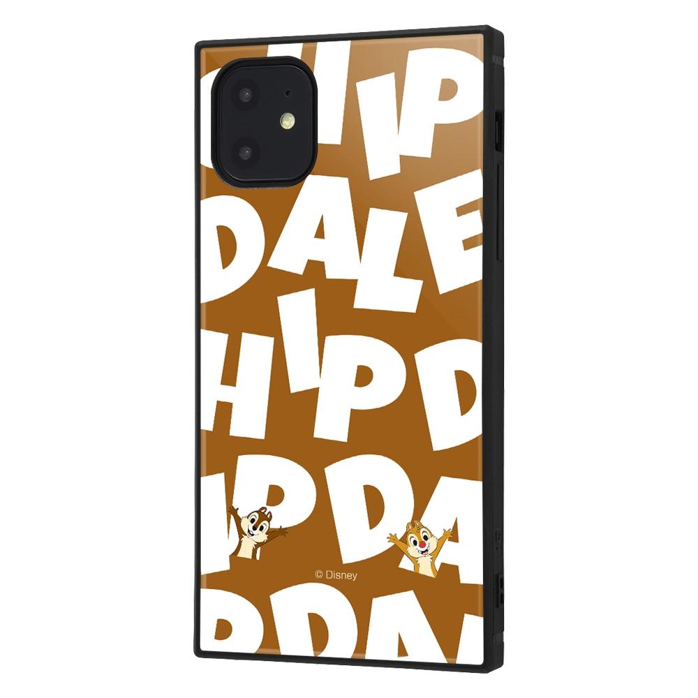 iPhone 11 /『ディズニーキャラクター』/耐衝撃ハイブリッドケース KAKU /『チップ&デール/I AM』【受注生産】