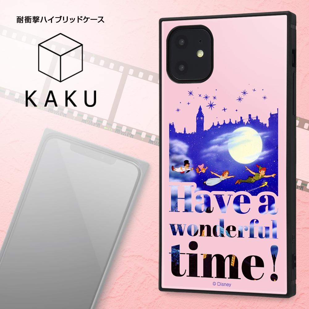 iPhone 11 /『ディズニーキャラクター』/耐衝撃ハイブリッドケース KAKU /『おしゃれキャット/Famous scene』【受注生産】
