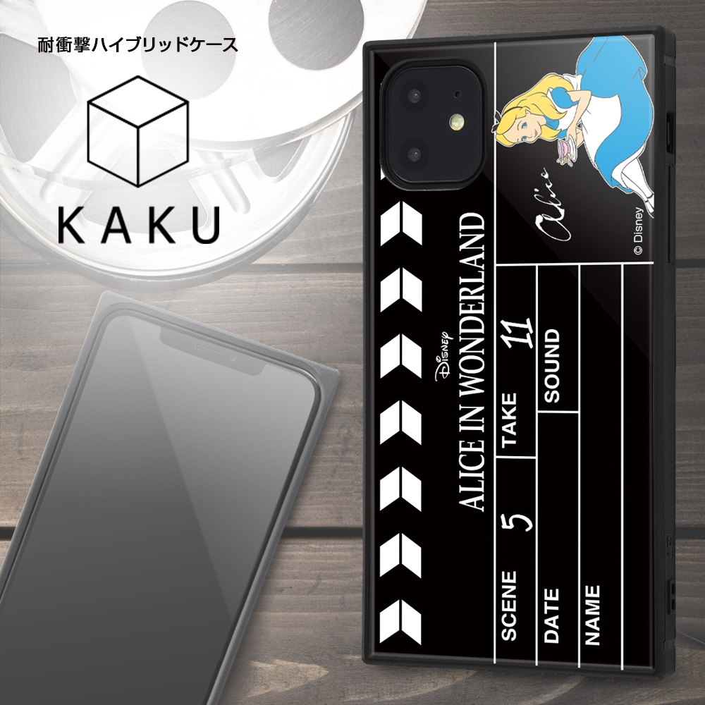 iPhone 11 /『ディズニーキャラクター』/耐衝撃ハイブリッドケース KAKU /『ピノキオ/Clapperboard』【受注生産】