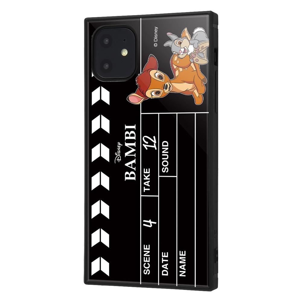 iPhone 11 /『ディズニーキャラクター』/耐衝撃ハイブリッドケース KAKU /『バンビ/Clapperboard』【受注生産】