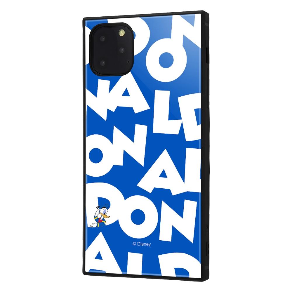 iPhone 11 Pro Max /『ディズニーキャラクター』/耐衝撃ハイブリッドケース KAKU /『ドナルドダック/I AM』【受注生産】