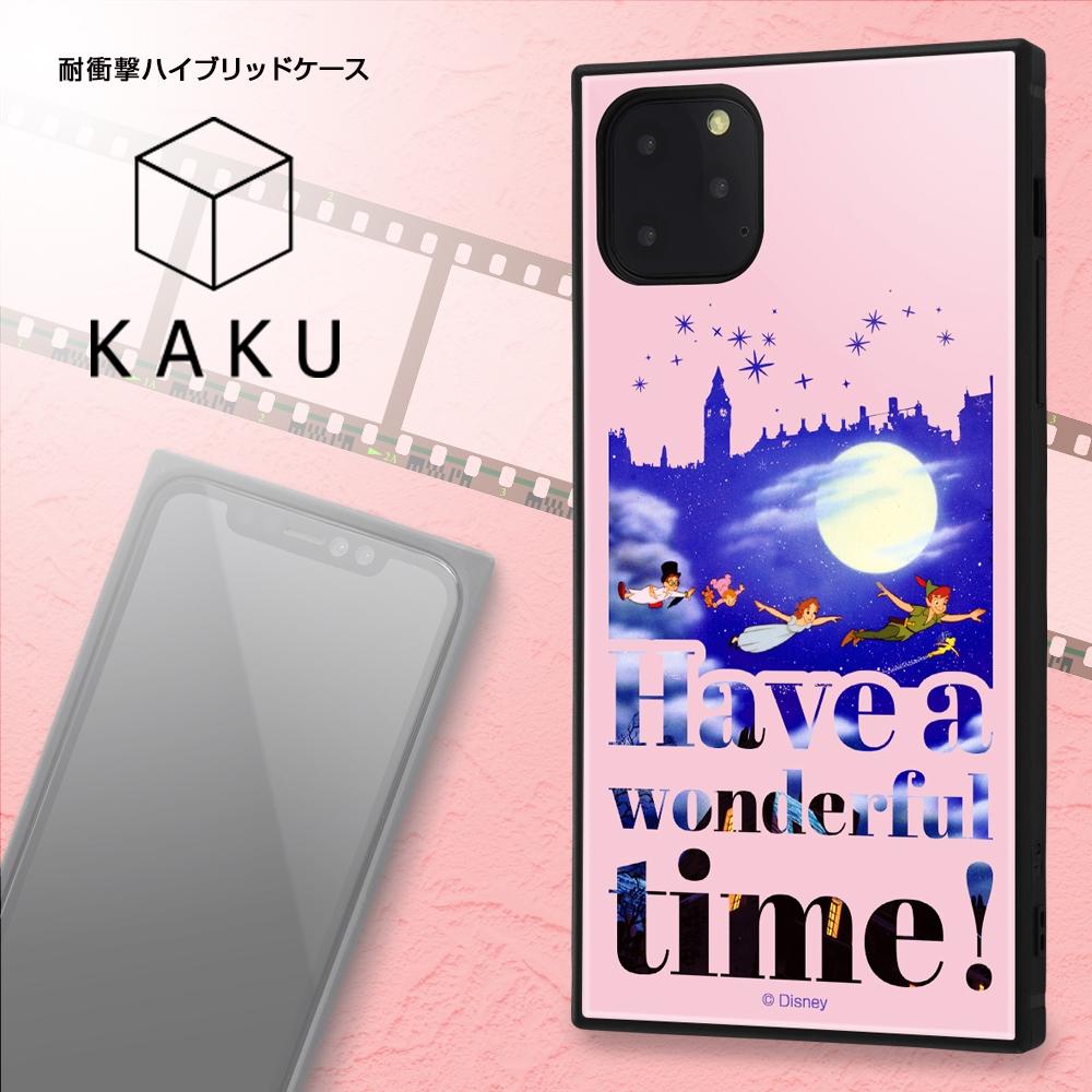iPhone 11 Pro Max /『ディズニーキャラクター』/耐衝撃ハイブリッドケース KAKU /『ピーター・パン/Famous scene』【受注生産】
